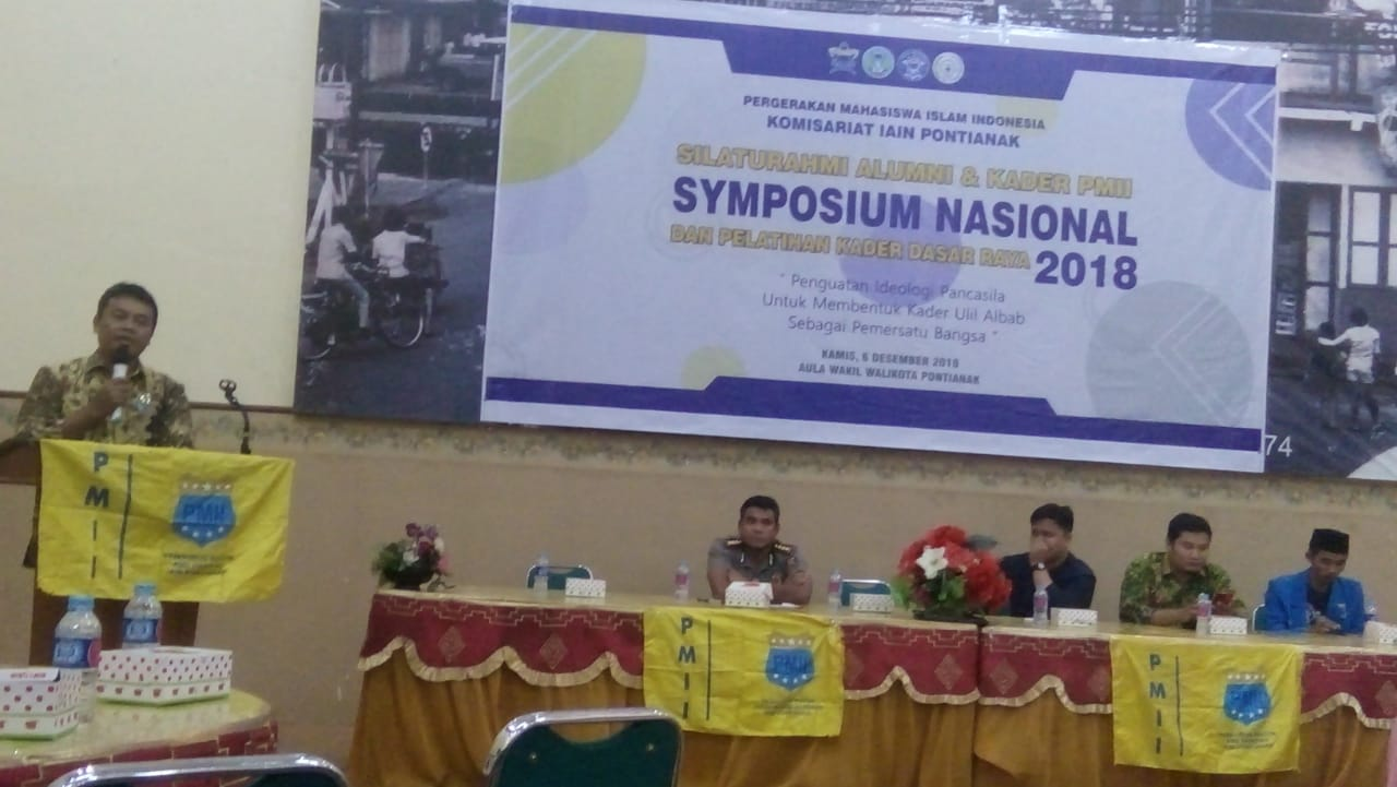 Simposium Nasional Awali Rangkaian Kegiatan PKD Raya PMII IAIN Pontianak