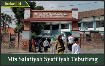MTs Salafiyah Syafi'iyah Tebuireng