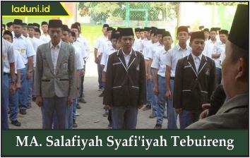 MA. Salafiyah Syafi'iyah Tebuireng
