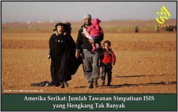 Amerika Serikat: Jumlah Tawanan Simpatisan ISIS yang Hengkang Tak Banyak