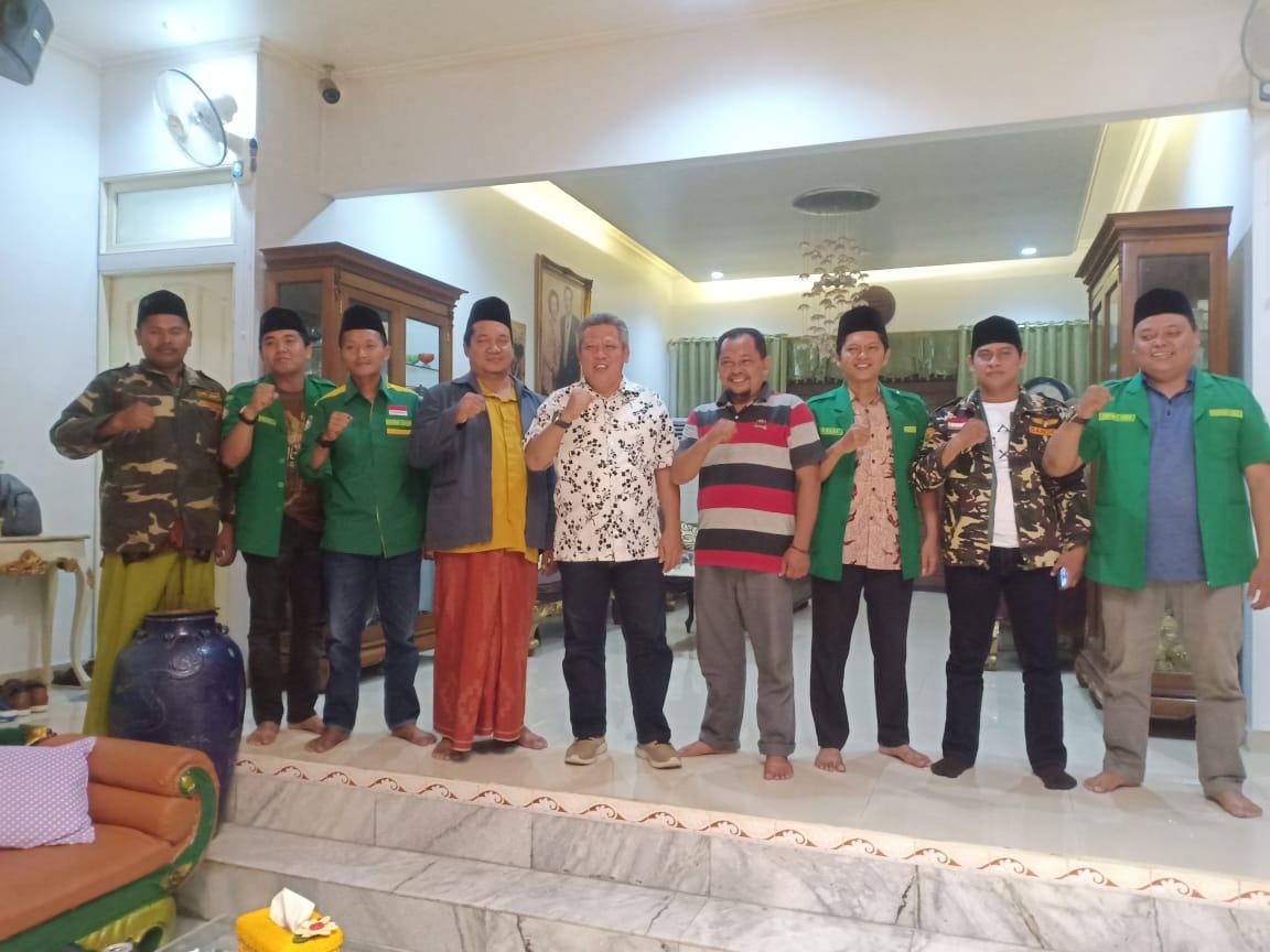 Jalin SInergitas, PC GP Ansor Kubu Raya Audiensi ke Bupati