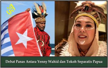 Debat Panas Antara Yenny Wahid dan Tokoh Separatis Papua