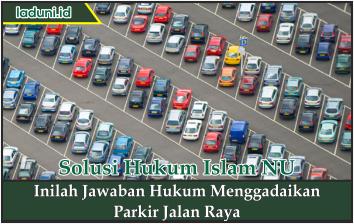 Inilah Jawaban Hukum Menggadaikan Parkir Jalan Raya
