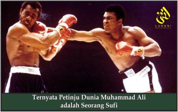 Ternyata Petinju Dunia Muhammad Ali adalah Seorang Sufi