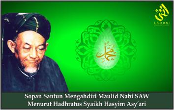 Adab Menghadiri Maulid Nabi SAW Menurut Hadhratus Syaikh Hasyim Asy'ari