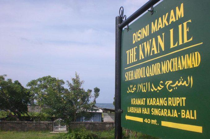 Wisata Religi Singaraja, Ngalap Berkah Makam Syech Abdul Qodir Muhammad (The Kuwan Lie)