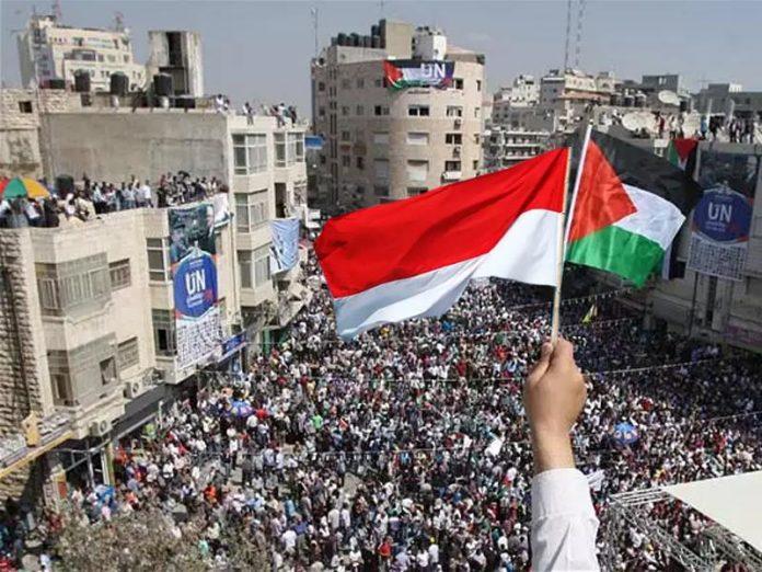 Indonesia Bantu Palestina 2 Juta US$ dan Inisiasi Insentif Bisnis