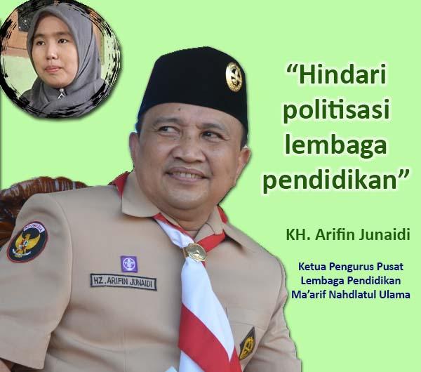 Ketua PP Ma'arif NU Menyesalkan Politisasi Lembaga Pendidikan