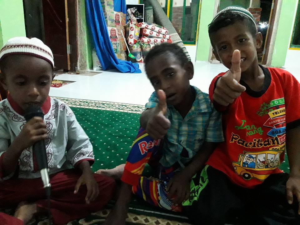 Selamat Idul Fitri dari Kokoda, Sorong, Papua Barat