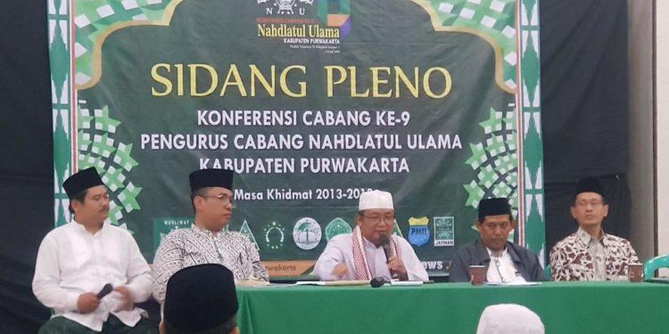 Hasil Keputusan Konfercab NU Kabupaten Purwakarta ke-9