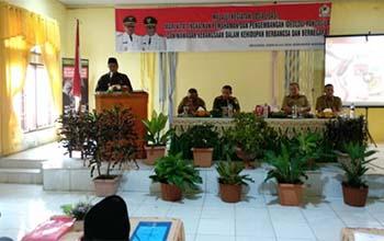 Ulama dan Tokoh Masyarakat Aceh Barat dibekali Ideologi Pancasila