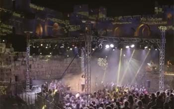 Keren, Ribuan Orang di Yerusalem Bernyanyi Bersama Hormati Gus Yahya!