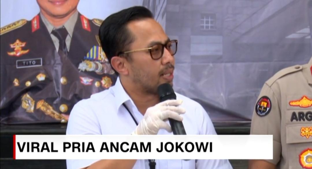 Tersangka Pengancam Penggal Jokowi Dijerat Pasal Berlapis