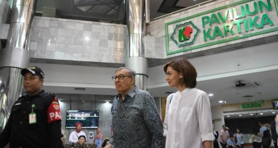 Moment Penting Ketika Quraish Sihab dan Najwa Sihab Besuk Presiden RI Ketiga BJ Habibie