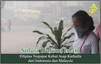 Filipina Terpapar Kabut Asap Karhutla dari Indonesia dan Malaysia