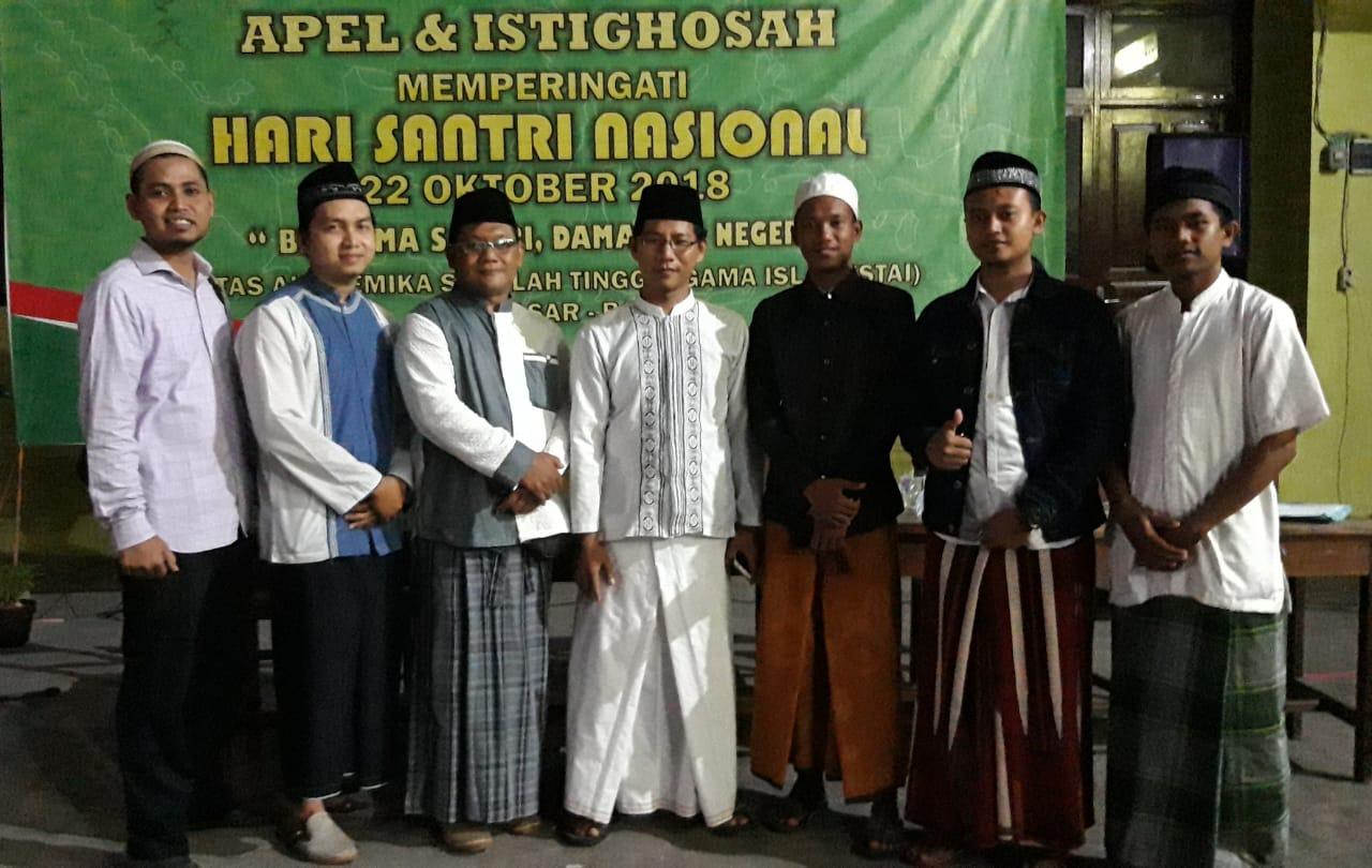Rangkaian Apel dan Istighotsah Hari Santri Nasional 2018 STAI Denpasar-Bali Dilangsungkan Malam Hari