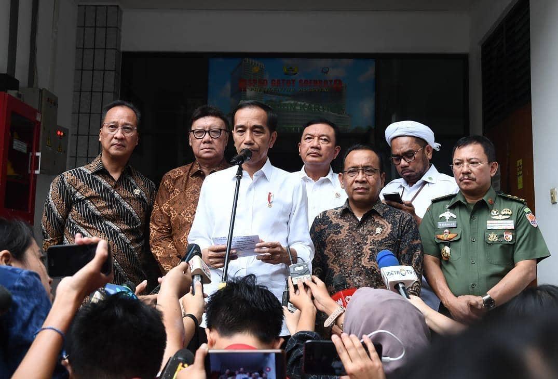 Presiden Jokowi Ajak Masyarakat Perangi Radikalisme dan Terorisme