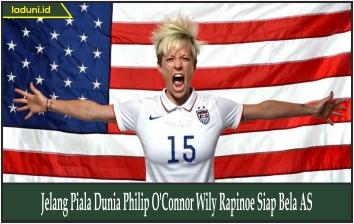 Jelang Piala Dunia Philip O'Connor Wily Rapinoe Siap Bela AS