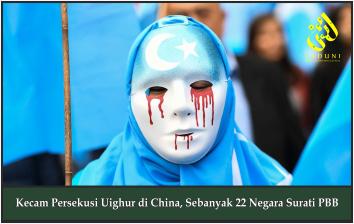 Kecam Persekusi Uighur di China, Sebanyak 22 Negara Surati PBB