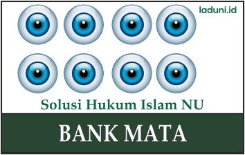Hukum Adanya Bank Mata
