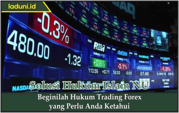 Beginilah Hukum Trading Forex yang Perlu Anda Ketahui