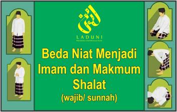 Beda Niat Menjadi Imam dan Makmum Shalat (wajib/ sunnah)