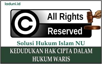 Kedudukan Hak Cipta dalam Hukum Waris