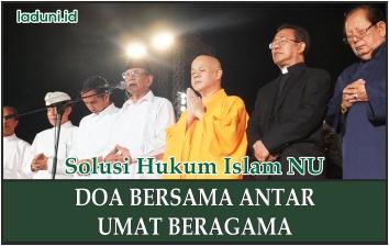 Doa Bersama Antar Umat Beragama