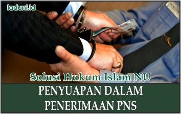 Hukum Penyuapan dalam Penerimaan PNS