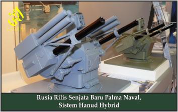 Rusia Rilis Senjata Baru Palma Naval, Sistem Hanud Hybrid