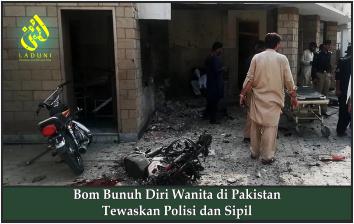 Bom Bunuh Diri Wanita di Pakistan Tewaskan Polisi dan Sipil