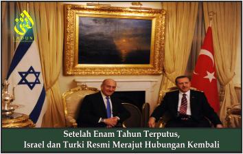 Setelah Enam Tahun Terputus, Israel dan Turki Resmi Merajut Hubungan Kembali