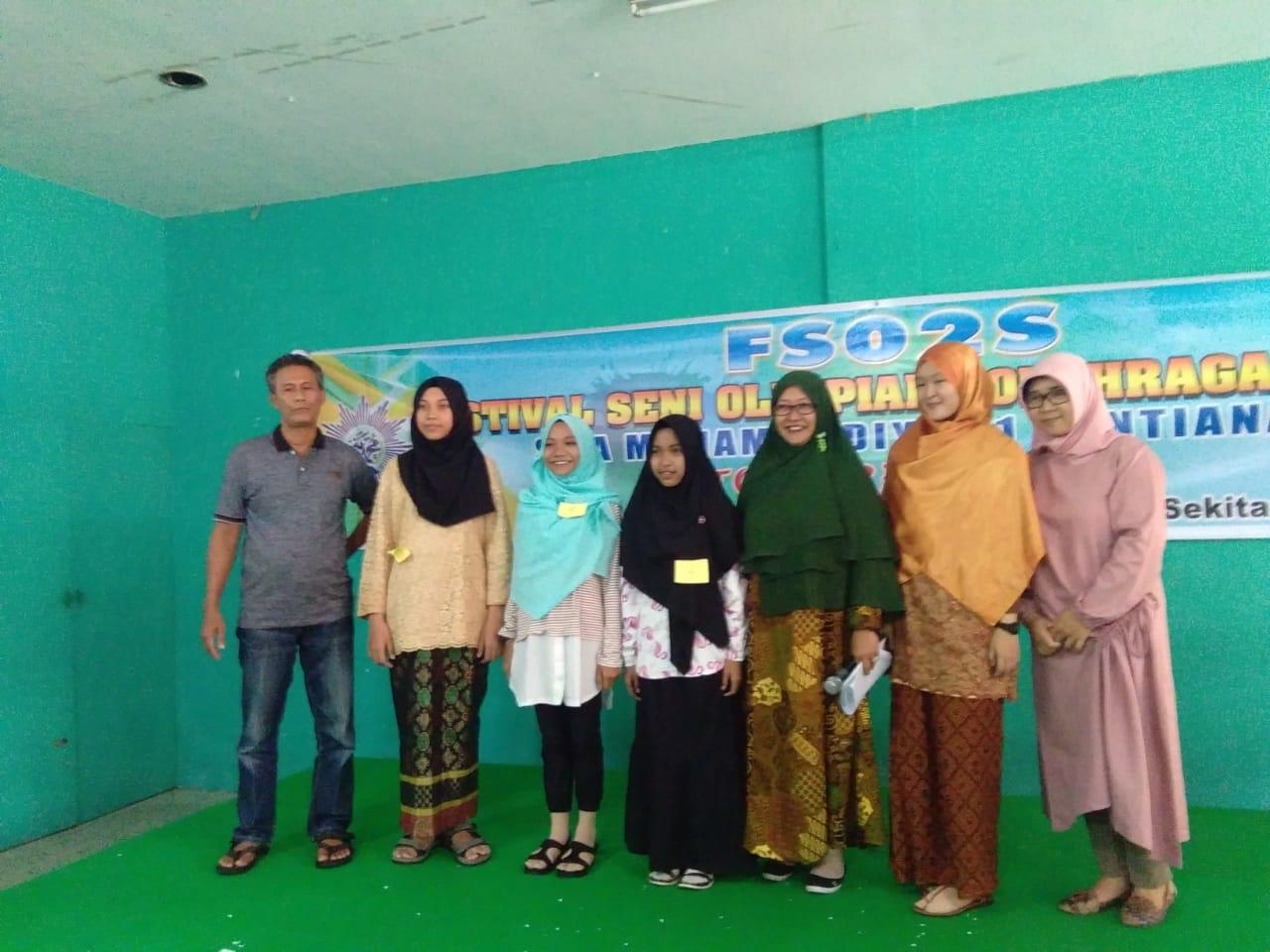 MTS ASWAJA Raih Juara III Lomba Story Telling