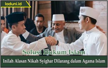 Inilah Alasan Nikah Syighar Dilarang dalam Agama Islam