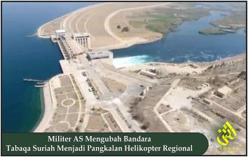 Militer AS Mengubah Bandara Tabaqa Suriah Menjadi Pangkalan Helikopter Regional
