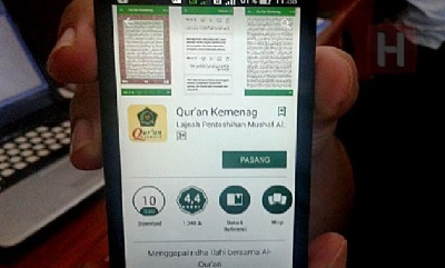 Hukum Bawa HP Berisi Aplikasi Al-Quran ke Toilet