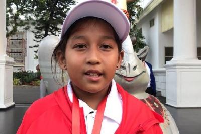 Umur 9 Tahun Menjadi Atlit Asian Games Termuda Indonesia, Targetkan Emas