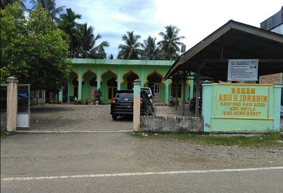 Bersafari Wisata Aceh Barat dan Bertawassul di Makam Abu Ibrahim Woyla