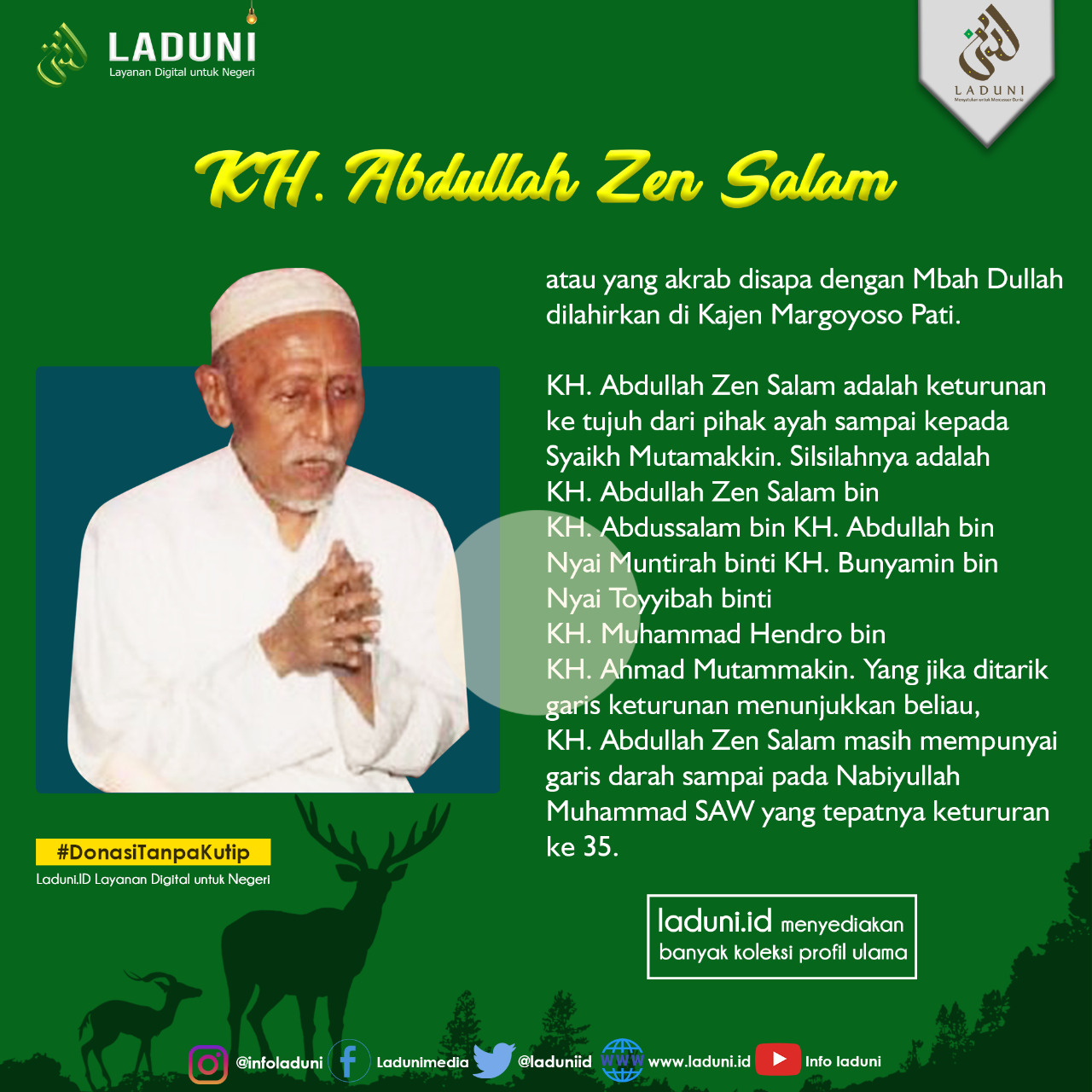 Biografi KH. Abdullah Zen Salam