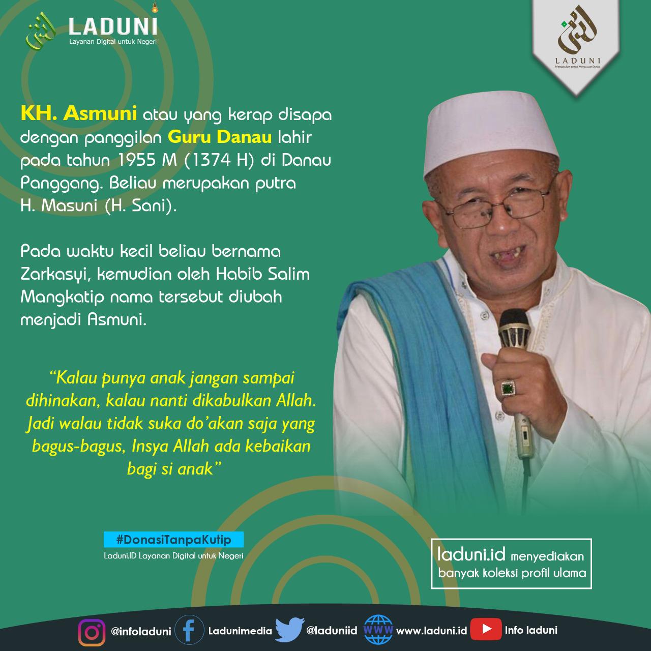Biografi KH. Asmuni (Guru Danau)
