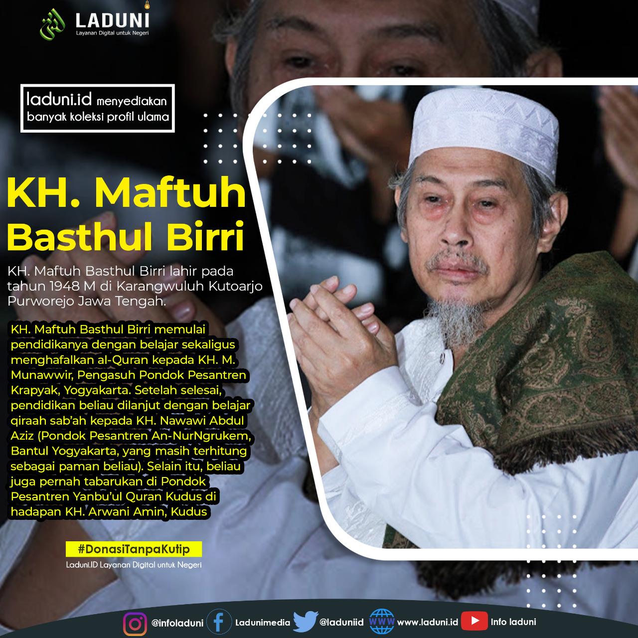Biografi KH. Maftuh Said