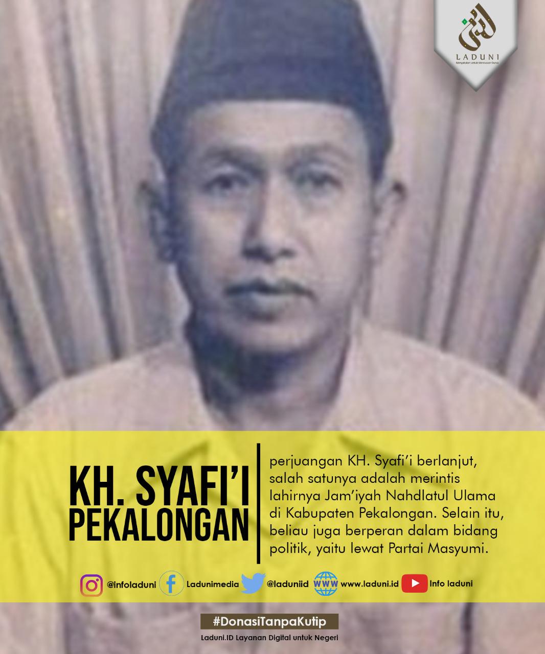 Biografi KH. Syafi'i Pekalongan
