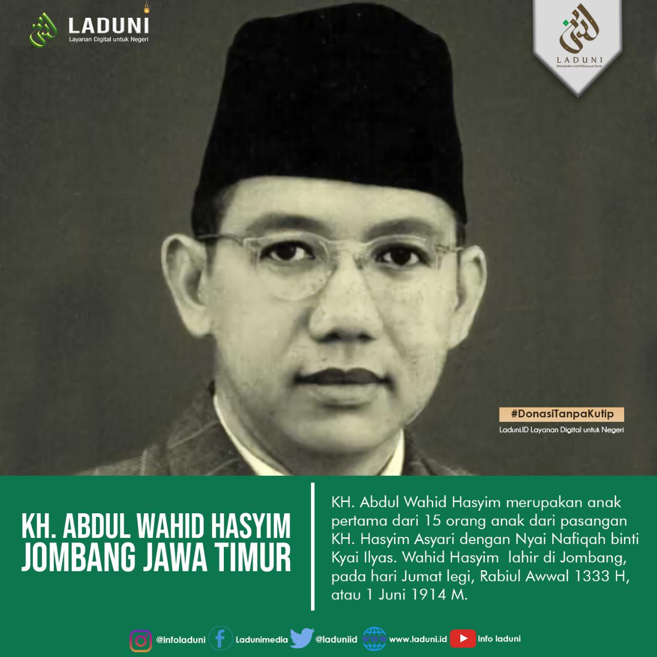 Biografi KH. Wahid Hasyim