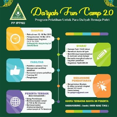 IPPNU Kembali Gelar Daiyah Fun Camp Angkatan Ke-2
