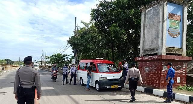 Jelang Hari Raya Idul Fitri, Ditsamapta Polda Banten Perketat Penyekatan di Pos Check Point