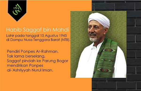 Biografi Habib Saggaf bin Mahdi