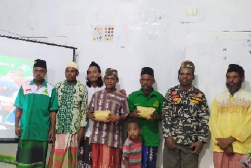 Santri Goes To Papua: Harlah ke -3 Madrasah Al-Ibriz Iru Nigeiyah