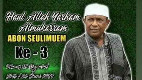 Haul Allahuyarham Abon Seulimum Ke-3