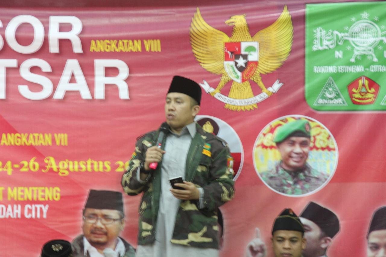 KH. Abdullah Nawawi, Kader Ansor Harus Bermanfaat untuk Masyakarat