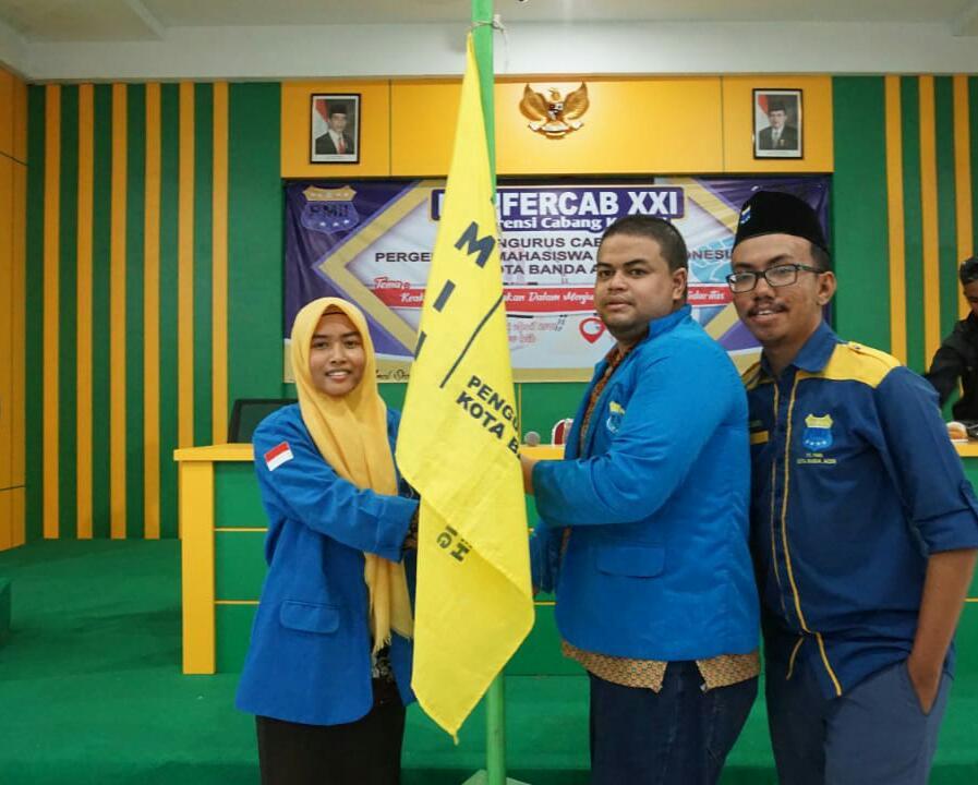 Safinal Terpilih Sebagai Ketua Umum PMII Banda Aceh